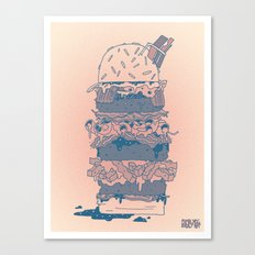 Mighty Burger Canvas Print