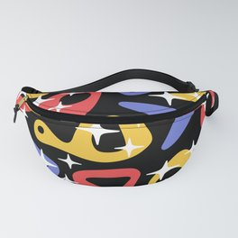 Retro Mid Century Modern Abstract Composition 938 Fanny Pack