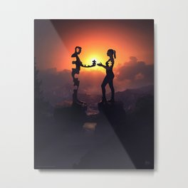 Giving all of myself to you Metal Print