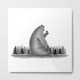 Giant Bear Metal Print