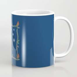 Christmas Pattern Collage Coffee Mug