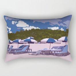beach side Naples Florida Rectangular Pillow