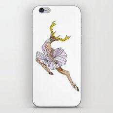 Reindeer Ballerina Tutu iPhone & iPod Skin