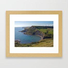 Chapmans Pool, Dorset, England Framed Art Print