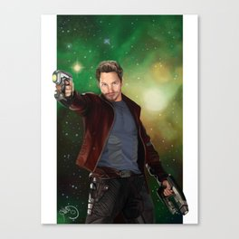 Star Lord | Guardians of the Galaxy Canvas Print