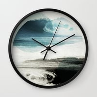friends Wall Clocks featuring Nalunani by .eg.