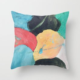 Abstract C4 Throw Pillow