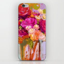 Bloom Fresh, Birthday Roses iPhone Skin