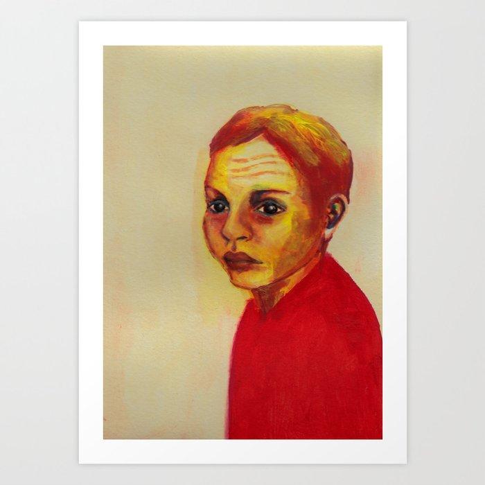 Nos étrangers 11 Art Print