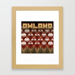 Owland Framed Art Print