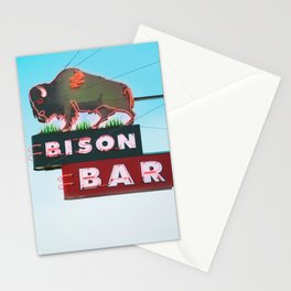 The Bison Bar Stationery Cards