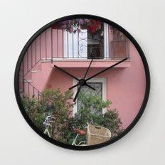 A Day in the Life - Capri, Italy Wall Clock