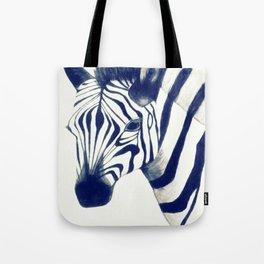Zeeebra Tote Bag
