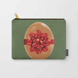 Chicken egg with red bow Carry-All Pouch