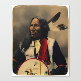Strikes With Nose, Oglala Sioux Chief 1899 Canvas Print