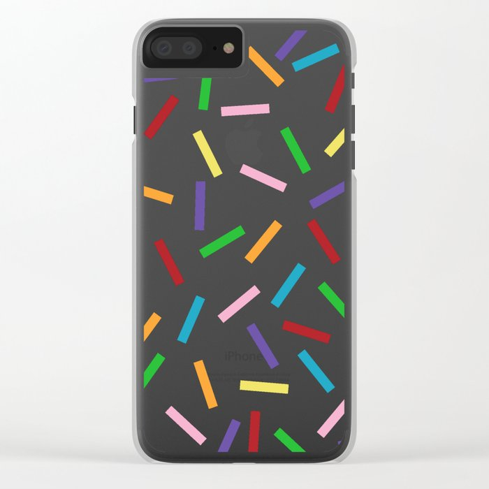 Sprinkles Clear iPhone Case