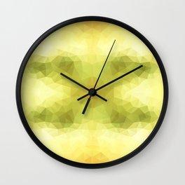 """Apple seeds"" triangles design Wall Clock"