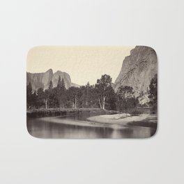 View from Camp Grove, Yosemite Bath Mat