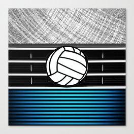 volley ball art Canvas Print
