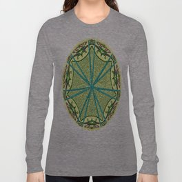 Mandala in florals Long Sleeve T-shirt