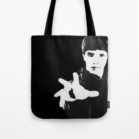 merlin Tote Bags featuring Merlin by Elyzewin
