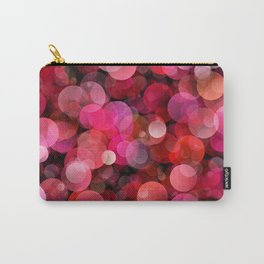 Red bubbles Carry-All Pouch