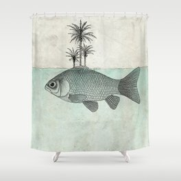 Paradise Goldfish Shower Curtain