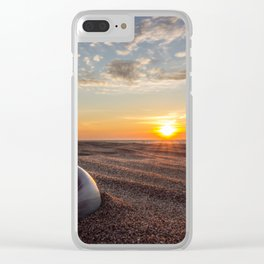 Forgotten in Sand Clear iPhone Case