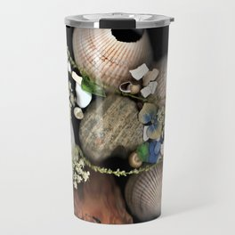 Seashell Garden Travel Mug