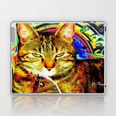 Psychedelic Cat Laptop & iPad Skin