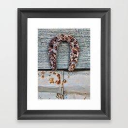 Herradura Framed Art Print