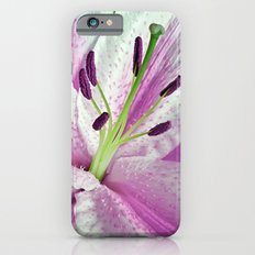 Pink Lily in Macro Slim Case iPhone 6s