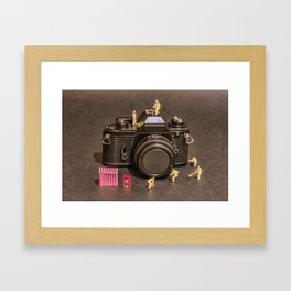 The Focus On Film Corporation Framed Art Print