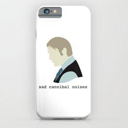 Sad Cannibal Noises iPhone Case