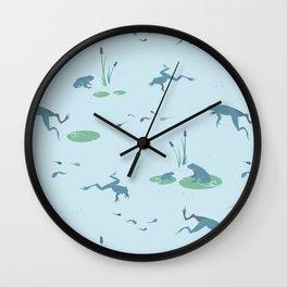 Marshland Dance Wall Clock