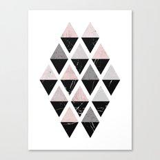 Diamonds modern art Canvas Print