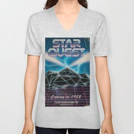 Star Quest Unisex V-Neck
