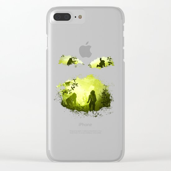 In the Heart of the Jungle Clear iPhone Case