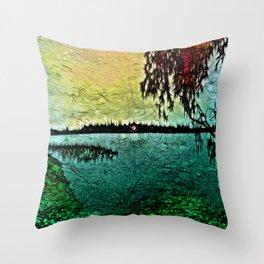 :: Lake View :: Throw Pillow