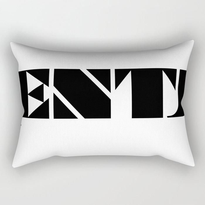 Type Type for ENTJ Rectangular Pillow