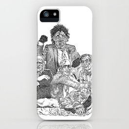 Texas Chainsaw Massacre 2 iPhone Case