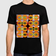 Abstract #1 Mens Fitted Tee MEDIUM Black