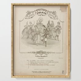 Grisi Carlotta  DA collection of the most admired polkas by the most eminent European composersAdditional Polka Serving Tray