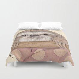 Slothy Duvet Cover