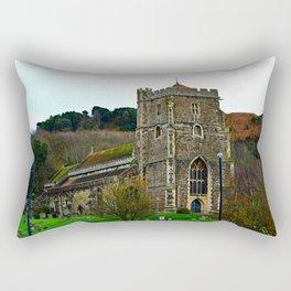 All Saints Church Rectangular Pillow