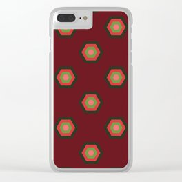 Merry Hexies Clear iPhone Case