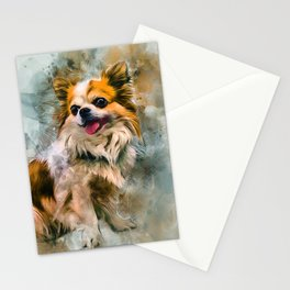 Chihuahua Art Stationery Cards