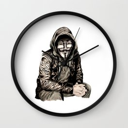 Anonymous Gangster Wall Clock