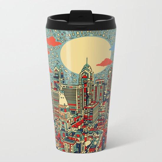 philadelphia Metal Travel Mug