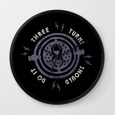 Three Turns Wall Clock